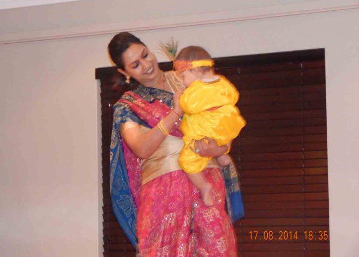 Bhajans and medley - Krishna Janmasthmi - Martin Krijtenberg and